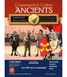 Commands & Colors: Ancients Exp. 2-3 - Rome vs The Barbarians / The Roman Civil Wars (Inglés)