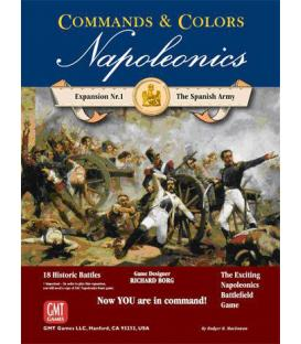 Commands & Colors: Napoleonics Exp. 1 - The Spanish Army (3rd Printing) (Inglés)
