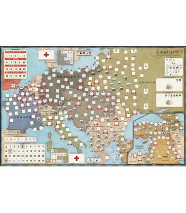 Paths of Glory: The First World War, 1914-1918 - Mounted Map