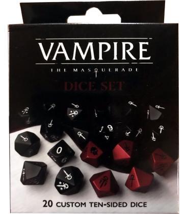 Vampiro La Mascarada 5ª Edición: Pack de Dados