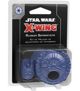 Star Wars X-Wing 2.0: Selectores de Maniobras para la Alianza Separatista (Kit de Mejora)