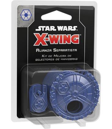 Star Wars X-Wing: Kit de Mejora de Selectores de Maniobras para la Alianza Separatista
