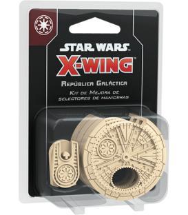 Star Wars X-Wing 2.0: Selectores de Maniobras para la República Galáctica (Kit de Mejora)