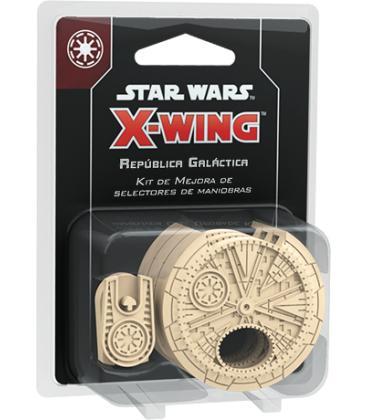 Star Wars X-Wing: Kit de Mejora de Selectores de Maniobras para la República Galáctica