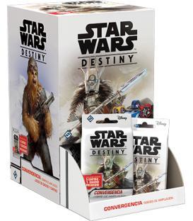 Star Wars Destiny: Convergencia (Expositor con 36 Sobres de Ampliación)