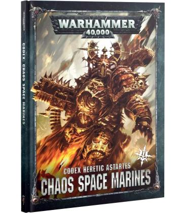 Warhammer 40,000: Chaos Space Marines (Códex Heretic Astartes)