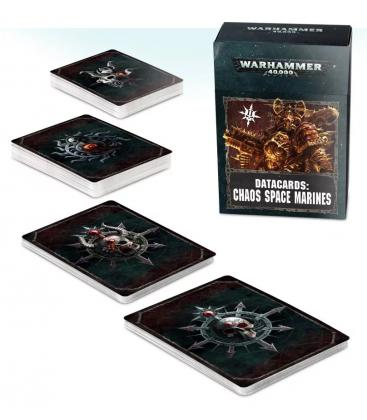 Warhammer 40,000: Chaos Space Marines (Datacards)