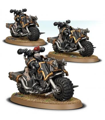 Warhammer 40,000: Chaos Space Marines (Bikers)