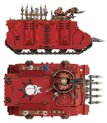 Warhammer 40,000: Chaos Space Marines (Chaos Rhino)