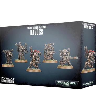 Warhammer 40,000: Chaos Space Marines (Havocs)