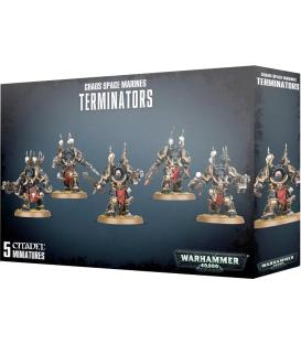 Warhammer 40,000: Chaos Space Marines (Terminators)