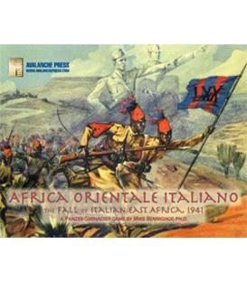 Panzer Grenadier: Africa Orientale Italiana (Inglés)