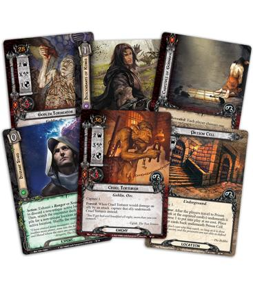 The Lord of the Rings LCG: Escape from Mount Gram / Angmar Despertado 2