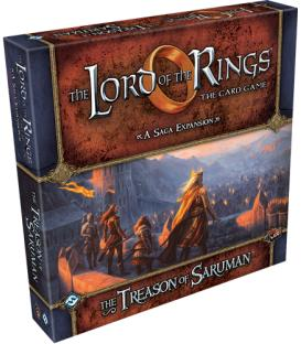The Lord of the Rings LCG: The Treason of Saruman (Inglés)