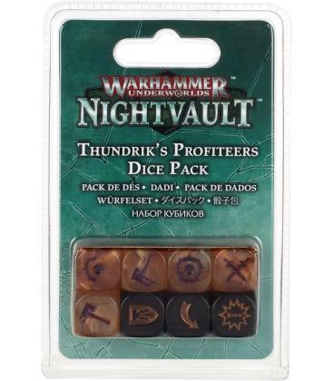 Warhammer Underworlds Nightvault: Estraperlistas de Thundrik (Pack de Dados)
