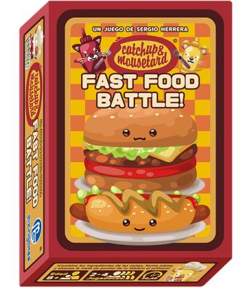 Catchup & Mousetard: Fast Food Battle!