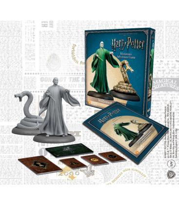 Harry Potter Miniatures: Voldemort y Nagini
