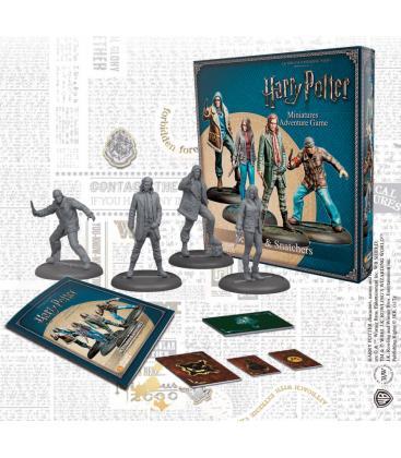 Harry Potter Miniatures: Scabior y Carroñeros