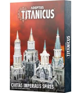 Adeptus Titanicus: Civitas Imperialis Spires (Inglés)