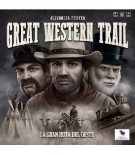 Great Western Trail: La Gran Ruta del Oeste (Esquinas ligeramente Rozadas)