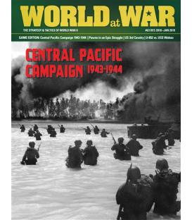World at War 63: Central Pacific Campaign, 1943-1944 (Inglés)