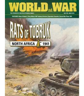 World at War 64: Rats of Tobruk North Africa, 1941 (Inglés)