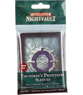 Warhammer Underworlds Nightvault: Estraperlistas de Thundrik (Fundas)