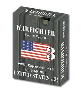Warfighter: WWII US Marines - United States 3 (Expansion 16)