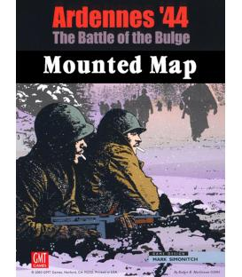Ardennes'44: The Battle of the Bulge Mounted Map