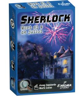 Q Serie Sherlock: Mort el 4 de Juliol (Català)