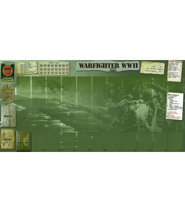 Warfighter: The WWII Pacific Combat Card Game Neoprene (Tactical Mat)