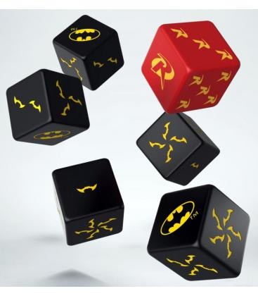 Q-Workshop: Batman Miniature Game Dice Set
