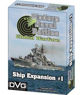 Modern Naval Battles Global Warfare: Ship Expansion (Inglés)