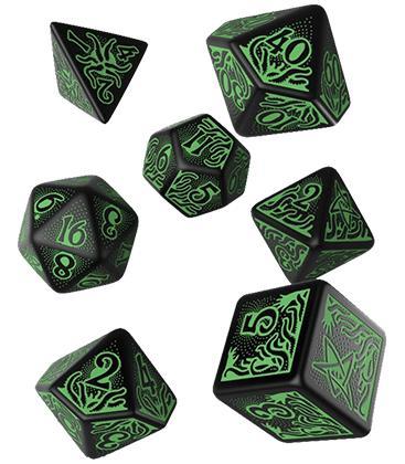 Q-Workshop: Call of Cthulhu 7th Edition (Black & Green)