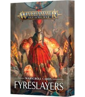 Warhammer Age of Sigmar: Fyreslayers (Warscroll Cards) (Inglés)