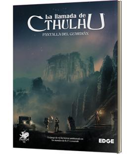 La Llamada de Cthulhu: Pantalla del Guardián (7ª Edición) (Esquina Golpeada)