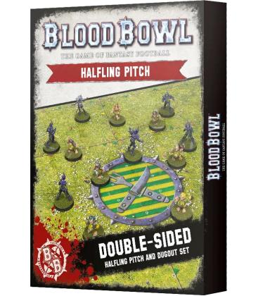 Blood Bowl: Halfling Team (Pitch and Dugout Set)