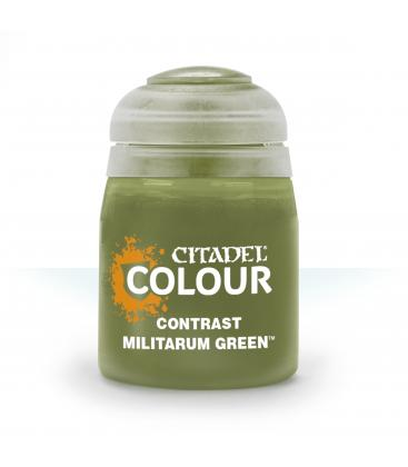 Pintura Citadel: Contrast Militarum Green