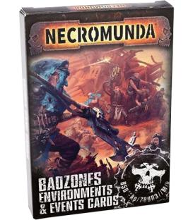 Necromunda: Badzones, Environments & Events Cards (Inglés)
