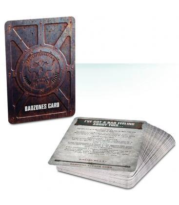 Necromunda: Badzones, Environments & Events Cards