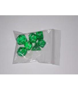 Bolsa 7 Dados: Gema Verde