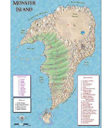 Mythras: La Isla de los Monstruos