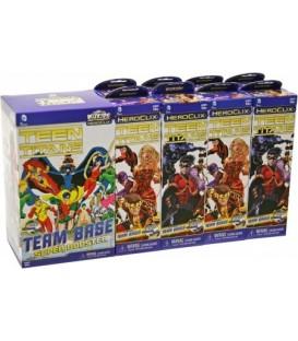 Teen Titans HeroClix Booster Brick + 8 Boosters (+1 Super Booster)