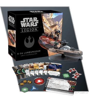 Star Wars Legion: Deslizador Terrestre X-34