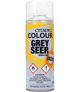 Spray de Imprimación Citadel: Contrast Undercoat (Grey Seer)