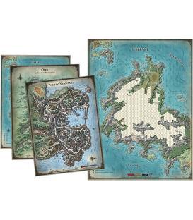 Dungeons & Dragons: La Tumba de la Aniquilación (Set de Mapas)