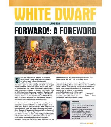 White Dwarf: June 2019 (Inglés)