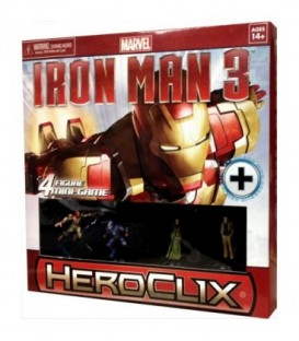Marvel HeroClix (Iron Man 3 Movie Mini Game)