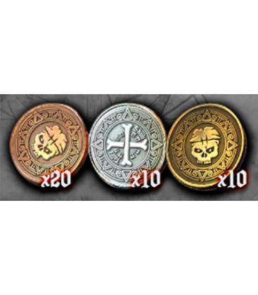 Skull Tales: Pack de Monedas de Metal (40)