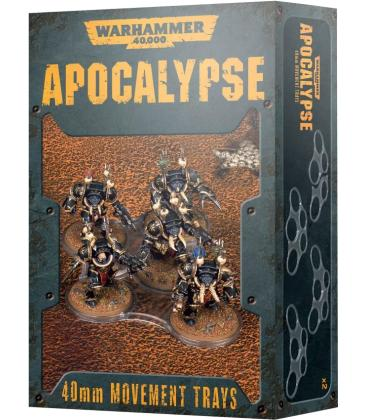 Warhammer 40,000: Apocalypse (40 mm. Movement Trays)